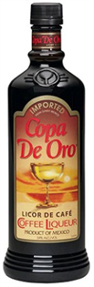 Copa de Oro Licor de Cafe 48 Proof 750ml - Case of 12